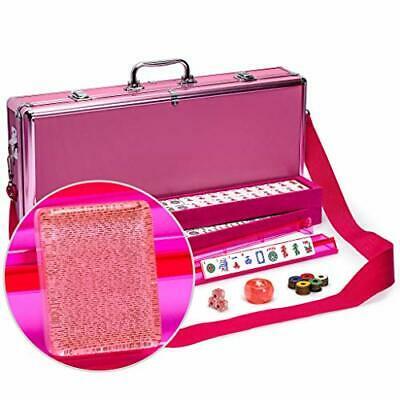 Buy Yellow Mountain Imports American Mahjong Set, Pink Sparkles - Pink Aluminum