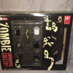 Buy Zombie Shooting Gallery ThinkGeek Laser Undead Hunting Gun Game LED Toy Gadget