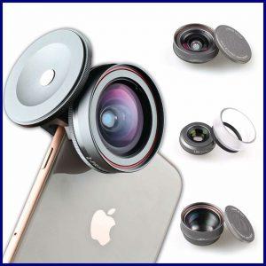 Buy Ztylus Z PRIME MARK II 3+1 Lens Kit Telephoto Wide Angle & Macro W Adapter For A