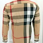 Buy brown burberry button  up Camel Long sleeve or Short options