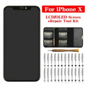 Buy for iPhone X XS XR LCD OLED Display Touch Screen Digitizer Assembly +Repair Tool
