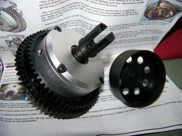 Buy hpi baja losi 5ive t 5t b 2spd diff transmission zenoah cy rovan km rc parts