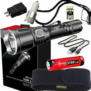 Buy klarus XT11X Super Bundle Includes 3200 Lumen Tactical Rechargeable