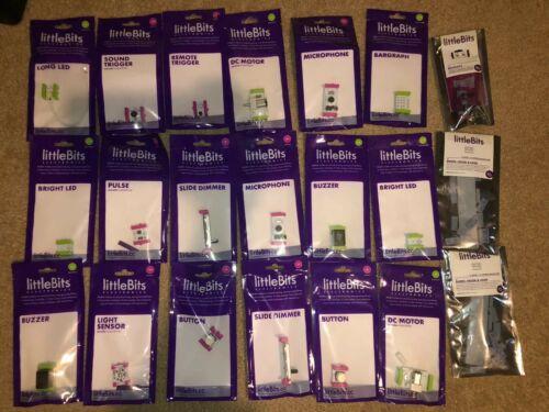 Buy littleBits 21 Assorted STEM Toys in New Sealed Packs lot kit misc