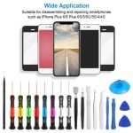 Buy 20Pcs Pro Phone Repair Kit Set Tools Precision Screwdriver Screen Opener iPhone