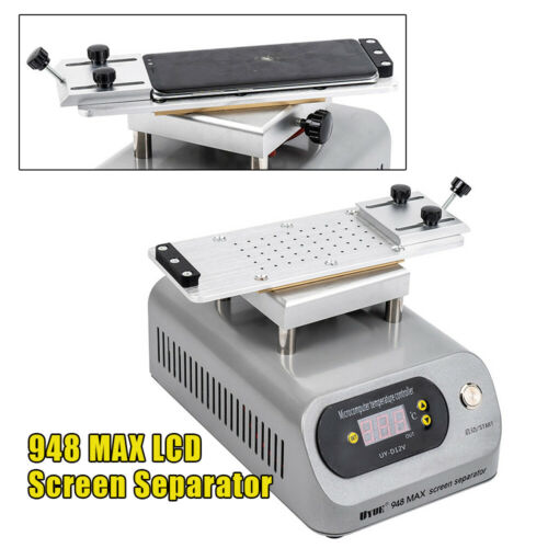 Buy 948MAX Screen Separator Mobile Phone Vacuum Splitter Repair Tool Adjustable