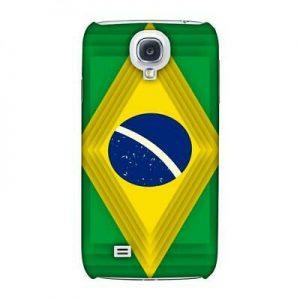 Buy AMZER Brazil Flag Ombre Shapes Hard Plastic Slim Printed Designer Snap On Case
