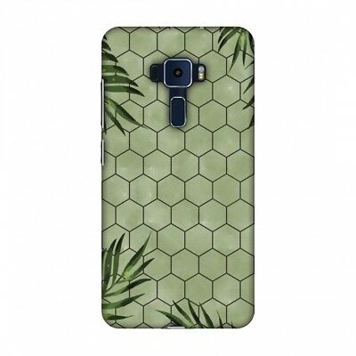 Buy AMZER Ferns Over Honeycomb Green Hard Plastic Cover Slim Printed Snap On Case