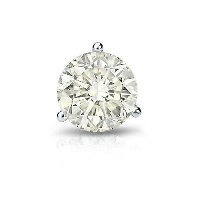 Buy Auriya 1ctw Round SINGLE STUD (1) Diamond Earring 14k Gold