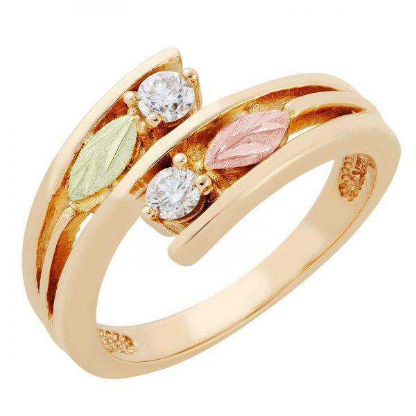 Buy Black Hills Gold diamond ring womens