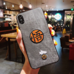 Buy Dragon Ball Super Z Goku Embroidery Cloth Case For HUAWEI OPPO VIVO Phones