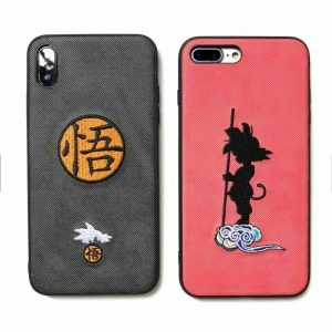 Buy Dragon Ball Super Z Goku Embroidery Cloth Case For HUAWEI OPPO VIVO Phones