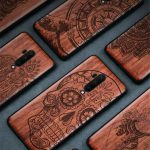 Buy For OnePlus 8 8 Pro 7 7 Pro 6T 6 100% Natural Wood Sculpture Carving soft case