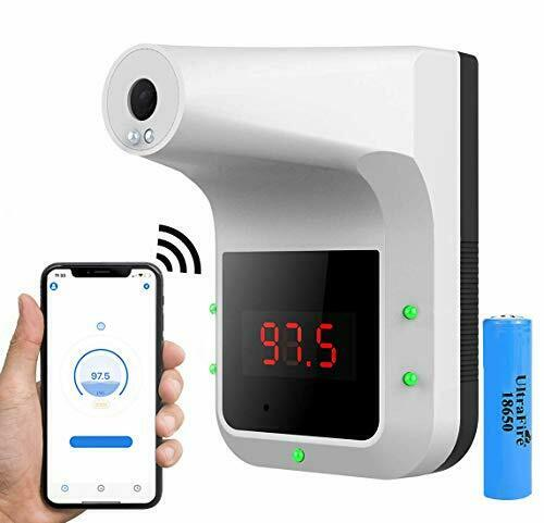 Buy [ Gorilla Gadgets ] Wall-Mounted Body Thermometer with Bluetooth, Non-Contact