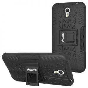 Buy Hybrid Warrior Case for Lenovo ZUK Z1 - Black/Black