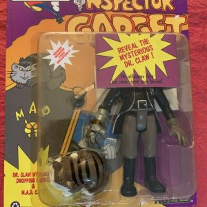 Buy Inspector Gadget 1992 M.A.D. Leader Dr. Claw With Cat Action Figure Tiger Toys