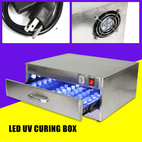 Buy LED Curing Box Drawer Type Curing Lamp Mobile Phone Repair Tool 84 LED Lights