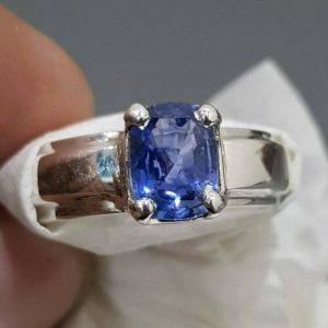 Buy Natural Ceylon Sapphire Unheated Untreated Ring Sri lanka sapphire Stone Ring