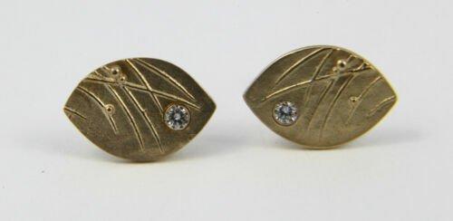 Buy Ola Gorie 9ct Yellow Gold Mistral Diamond Stud Earrings Scottish