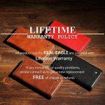 Buy OnePlus 6 Case, REAL-EAGLE Oneplus 6 Wallet Case,OnePlus 6 Premium PU Coffee