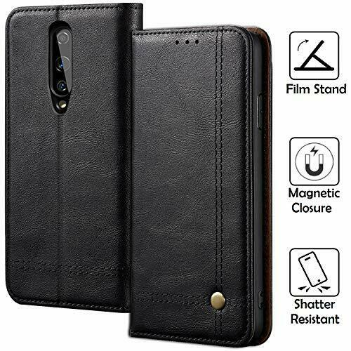 Buy REAL-EAGLE Oneplus 8 Case, 8 Wallet Case,Oneplus 8 OnePlus 8, Black