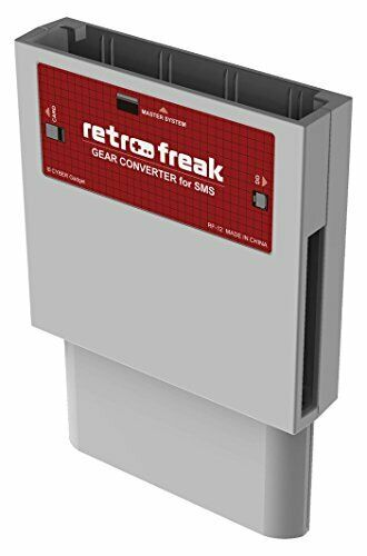 Buy Retro freak Gear CONVERTER for SMS dark gray Cyber Gadget new from Japan