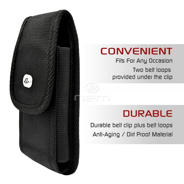Buy Wider Heavy Duty Rugged Pouch Fits with Hard Shell Case 6.53 x 3.38 x 0.59 inch