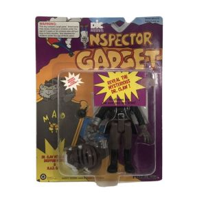 Buy vintage inspector gadget 1992 M.A.D. Leader Dr. Claw With Cat Action Figure