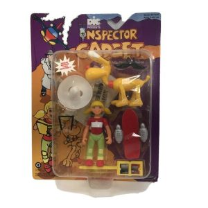 Buy vintage inspector gadget 1992 Penny And Brain Action Figure