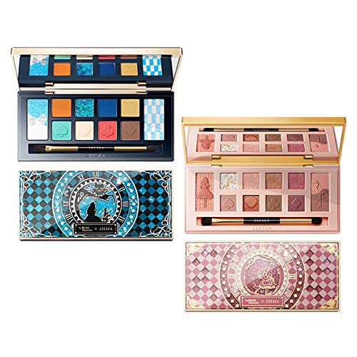 Buy 12-Color Eyeshadow Palette Quicksand Print Matte Glitter Eye Shadow,02