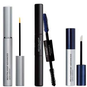 Buy RevitaLash Cosmetics, RevitaLash Favorites - RevitaLash Advanced 3.5ml, RevitaBrow Advanced 1.5ml, Mini Double-Ended Volume Set & Signature Cosmetic Bag