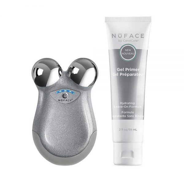 Buy NuFACE Mini Petite Facial Toning Device, Mini Device + Hydrating Leave-On Gel Primer, Handheld Skin Care Device to Lift Contour Tone Skin + Reduce Look of Wrinkles, FDA-Cleared At-Home System