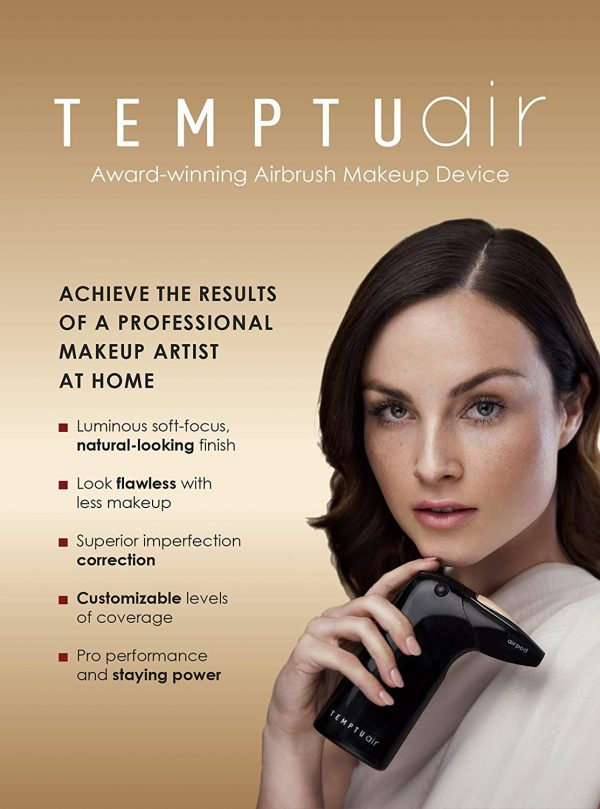 Buy TEMPTU Air Airbrush Starter Kit: Cordless Professional At-Home Airbrush Makeup Travel-Friendly Anti-Aging, Long-Wear, Buildable Foundation For Healthy Skin 24 shades