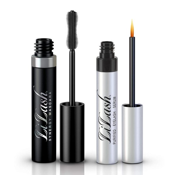 Buy LiLash Synergy Set: Purified Eyelash Serum and Mascara | Get Longer-Looking Lashes Plus Get Length, Fullness & Separation