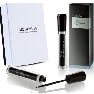 Buy M2Beaute Eyelash Growth Serum in M2 Beaute Gift Box | Eyelash Activating Serum | Non-Toxic and Cruelty-Free Premium Lash Growth Enhancer Formula | Longer and Healthier Eyelashes in Just 60 Days